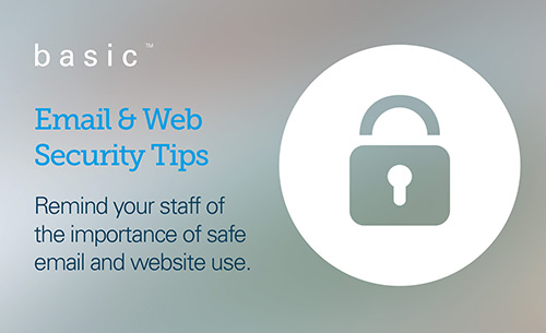 email and web security tips
